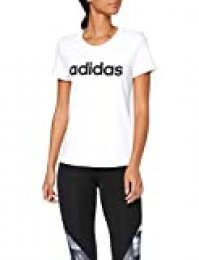 adidas W E Lin Slim T Camiseta de Manga Corta, Mujer