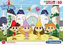 Clementoni- Puzzle 60 Piezas Trulli Tales, Color, 60pezzi (26055.3)