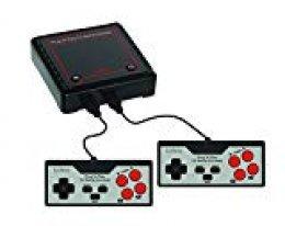 Lexibook Consola De Televisión con 300 Juegos Vídeo Interactivos Deportivos, Negro/Gris/Rojo, JG7800 300vídeojuegos, Color
