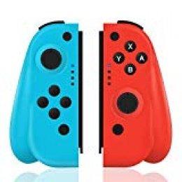 TUTUO Mando para Nintendo Switch, Wireless Controller Gamepad Bluetooth Joystick Controlador De Reemplazo Izquierdo Y Derecho para Joy con