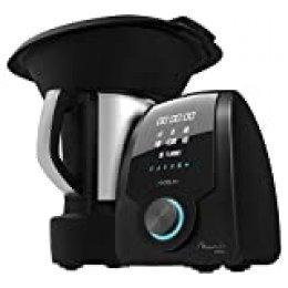 Cecotec Robot de Cocina Mambo 9590. con Jarra Habana, 30 Funciones, Báscula incorporada, Jarra de Acero INOX, Capacidad 3,3 litros, Apta para lavavajillas,