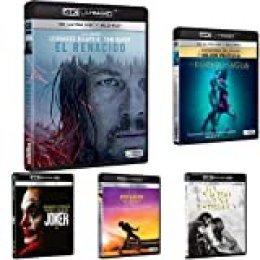 Pack Ganadoras de Oscars - Incluye: El Renacido + La Forma del Agua + Ha Nacido Una Estrella + Bohemian Rhapsody + Joker 4k Uhd [BLU-Ray]