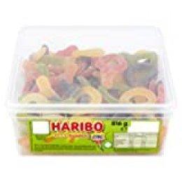 Haribo - Cerezas agrias, 120 unidades por cubo 1.1 kg
