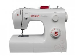 Singer 2250 Tradition - Máquina de coser mecánica, 10 puntadas, 43 x 22 x 35,2 cm, color blanco