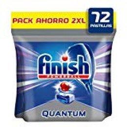 Finish Quantum Pastillas para Lavavajillas Regular - 72 Pastillas