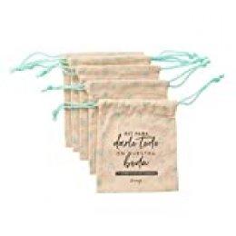Mr. Wonderful Set de 10 bolsas para crear el kit de supervivencia post- boda ideal