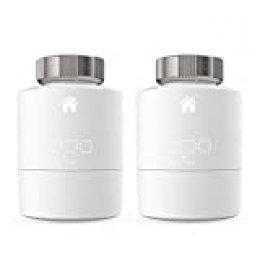 Tado° - Pack Duo, Cabezal Termostático Inteligente, Accesorio para Control de Habitaciones Múltiples, Control de Calefacción Inteligente