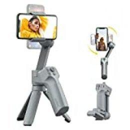 Moza Mini-MX 3 Ejes cardán Estabilizador para Smartphone Vlog Youtuber Vivo Grabación de vídeo Plegable cardán Soporte de Control de cámara nativa