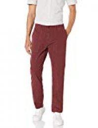 Marca Amazon - Goodthreads - Pantalones de lona elásticos de corte atlético con bolsillos para hombre