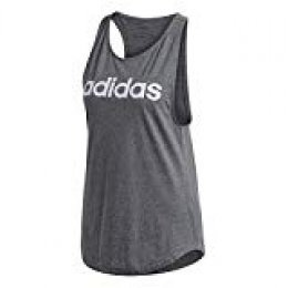 adidas W E Lin Loos Tk Top Sin Mangas, Mujer, brgros/Matpur, S