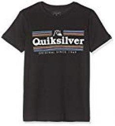 Quiksilver Get Buzzy-Camiseta para Chicos 8-16, Niños, Black, S/10
