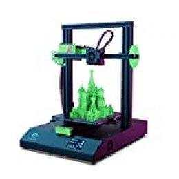 LABISTS Impresora 3D, Tamaño de Impresión 220 x 220 x 250 mm, Impresora 3D de Alta Precisión con Pantalla Táctil, Nivelación Automática, Detector de Filamento y Reanudación de Impresión