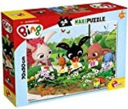 Lisciani- Puzzle Supermaxi Bing 24: Observamos la Naturaleza (81219)