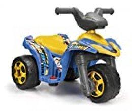 FEBER FEBER-800007632 Trimoto batería, Color Negro, Azul, Amarillo (Famosa 800007632)
