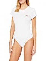 Levi's Graphic tee bañadores, Blanco (Feminine Logo Bodysuit White+ 0002), Talla Única (Talla del Fabricante: Large) para Mujer