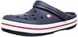Crocs Crocband, Zuecos Unisex Adulto, Azul (Navy), 42/43 EU