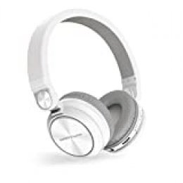 Energy Sistem Headphones BT Urban 2 Radio White (Auriculares inalambricos, Reproductor MP3 microSD, Radio, Bluetooth)