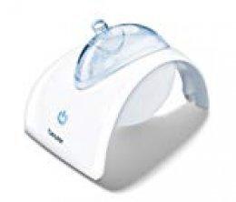 Beurer IH40 Inhalador eléctrico, color blanco, 20.1 x 14.7 x 14.1 cm, 318 g