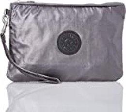 Kipling ELLETTRONICO Mochila Tipo Casual, 24 cm, 2 Liters, Negro (Carbon Metallic)