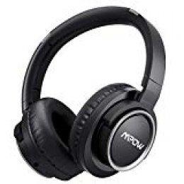 Mpow H3 Cascos Bluetooth Inalámbricos con Activa Cancelación de Ruido (ANC), Over-Ear, Auriculares Bluetooth Diadema,Casco Bluetooth con Micrófono,25-50 Horas