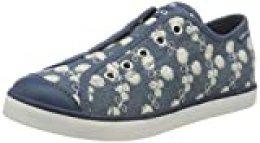Geox Jr Ciak Girl C, Zapatillas para Niñas, Azul (Avio C4005), 29 EU