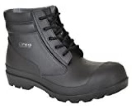 Portwest FW45 - PVC Boot S5 45/10,5, color Negro, talla 45