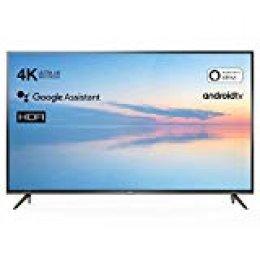 TCL 55EP640 Televisor 139 cm (55 Pulgadas) Smart TV (4K UHD, HDR10, Micro Dimming Pro, Android TV, Alexa, Google Assistant)