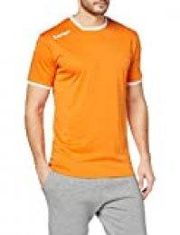Kempa Curve Camiseta De Juego De Balonmano, Hombre, Naranja Claro/Blanco, M