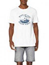 JACK & JONES Jorsunbaked tee SS Crew Neck TG Camiseta para Hombre