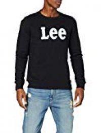 Lee Logo Crew SWS Sudadera para Hombre