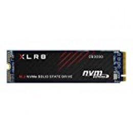 PNY XLR8 CS3030 Unidad de Estado sólido M.2 1000 GB PCI Express 3D TLC NVMe - Disco Duro sólido (1 TB, M.2, 3500 MB/s), Negro