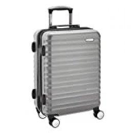 AmazonBasics - Cabina rígida equipaje de mano con ruedas giratorias, 55 cm homologada para Ryanair, Easyjet y otras aerolíneas