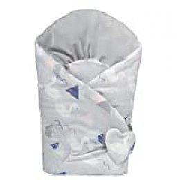 Sevira Kids - Saco de dormir reversible de algodón, color cignes