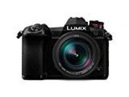 Panasonic Lumix DC-G9L, Cámara Evil de 20.3 MP (20FPS AFC Raw, Estabilizador Óptico de 5 Ejes, Live Mos, 4K Ultra HD, Pantalla Táctil) Kit con Objetivo Leica 12-60mm / F2.8-F4, Bluetooth, Negro