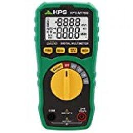 KPS-MT900 Multimetro digital SMART 6000 cuentas, Cat. III 600V, tensión DC/AC, Resistencia 10MΩ, Frecuencia 3Mhz, y ciclo de trabajo, autoescala, NCV (Detección sin contacto)