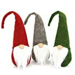 VGOODALL - Figura decorativa de Papá Noel sueco de Papá Noel, Papá Noel, Tomte Gnom, enano escandinavo para Navidad
