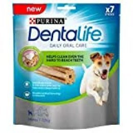 Dentalife Purina Mini – Higiene bucal Diaria – 115 g – 7 Palos para Masticar para Perros pequeños – Lote de 5
