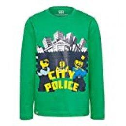 LEGO Wear City Cm Camisa Manga Larga, Verde (Green 866), 92 para Bebés