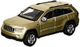 Maisto- Jeep Grand Cherokee Laredo, Color Dorado (31205GD)