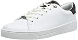 Ted Baker Zenib, Zapatillas para Mujer, Blanco (White White), 42 EU