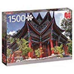 Jumbo- Chinese pcs Templo Chino, Puzzle de 1500 Piezas (618584)