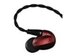 Optoma HEM2 - Auriculares (Alámbrico, Dentro de oído, Binaural, Intraaural, 20-40000 Hz, Rojo)