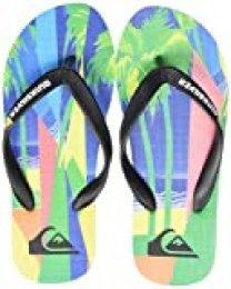 Quiksilver Molokai Vacancy Youth, Zapatos de Playa y Piscina para Niños