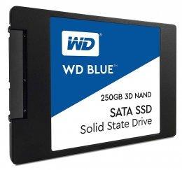 """Western Digital WDS250G2B0A WD Blue 250GB 3D NAND Internal SSD 2.5"""" SATA"""