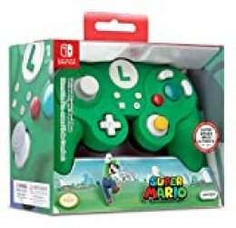 Nintendo Switch Luigi Wired Fight Pad Pro [ ] [Importación alemana]