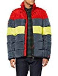 Superdry Colour Stripe Sports Puffer Chaqueta para Hombre