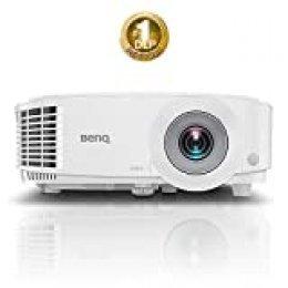 "Benq MH550 Video - Proyector (3500 Lúmenes ANSI, DLP, 1080P (1920 x 1080), 20000:1, 16:9, 762-7620 mm (30-300"")), Blanco"