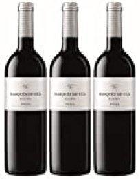 Vino Tinto Marqués de Ulia Reserva (D.O.Ca. Rioja) - 3 botellas de 750 ml - Total: 2250 ml