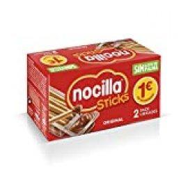Sticks Nocilla Original-Sin Aceite de Palma-Pack de 2 raciones de 30g
