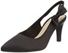 s.Oliver 29600, Zapatos de Talón Abierto para Mujer, Negro (Black), 39 EU